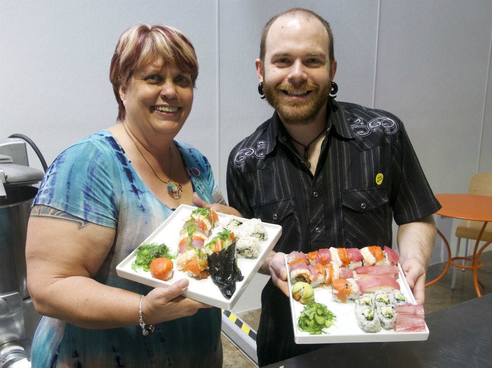 San Mateo Sushi Class May 2 2015 4