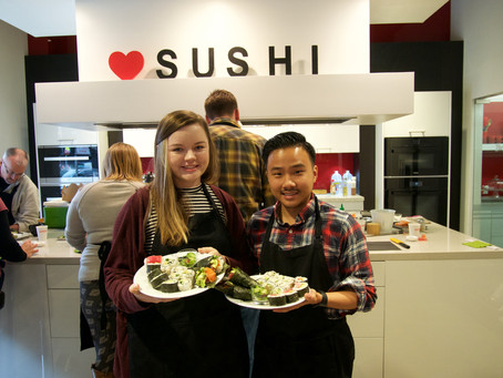"Photos from January ""SELECT"" Sushi Class"