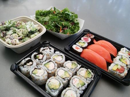 Sushi@ UC Davis Cafe and Market Place
