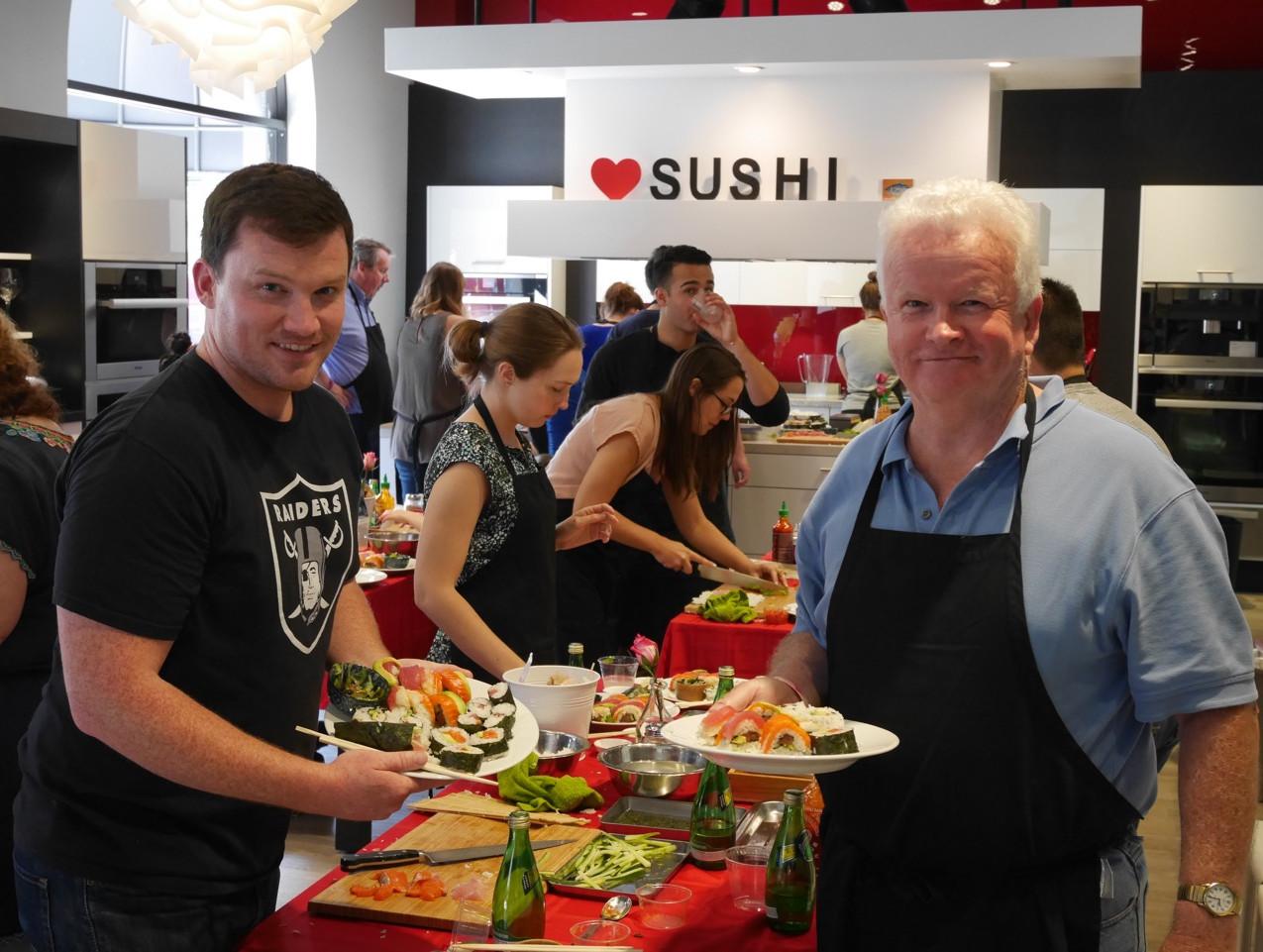 San Francisco Sushi Class July 9 2016 1