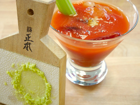 Fresh Wasabi Bloody Mary Is Nothing Like The Regular Kind (Quite A Surprise)