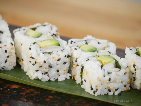 Homemade Recipe for Sushi: New York Roll Is Also Known As Boston Roll (Inside Out, 8pc)