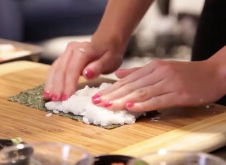 Monthly Sushi Class Schedule published