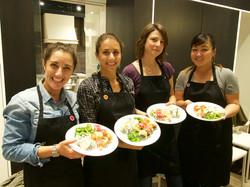Thumbtack Team Building Sushi Class May 19 2015