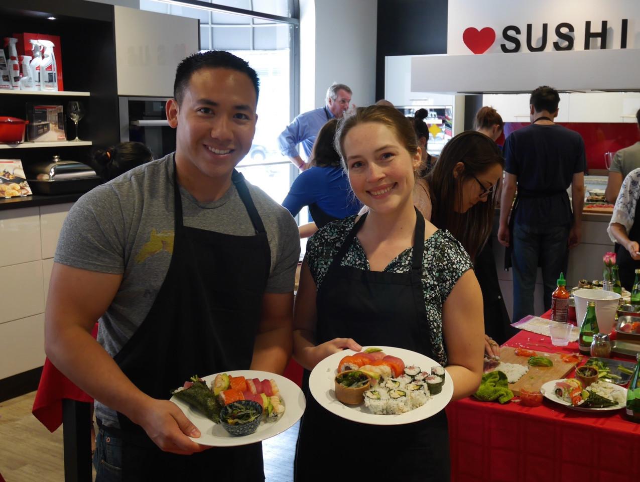 San Francisco Sushi Class July 9 2016 2