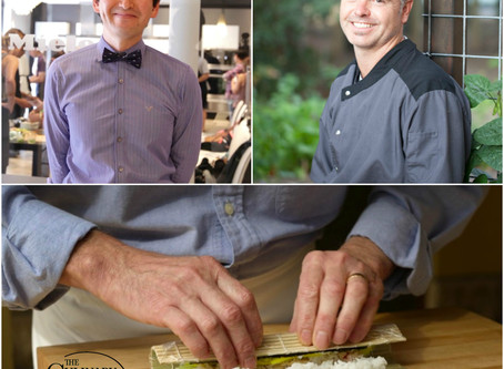 """""""A Beginner's Guide to Sushi Rolls"""" Class, CIA at COPIA, Napa"""