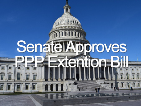 PPP Extension Bill Approved