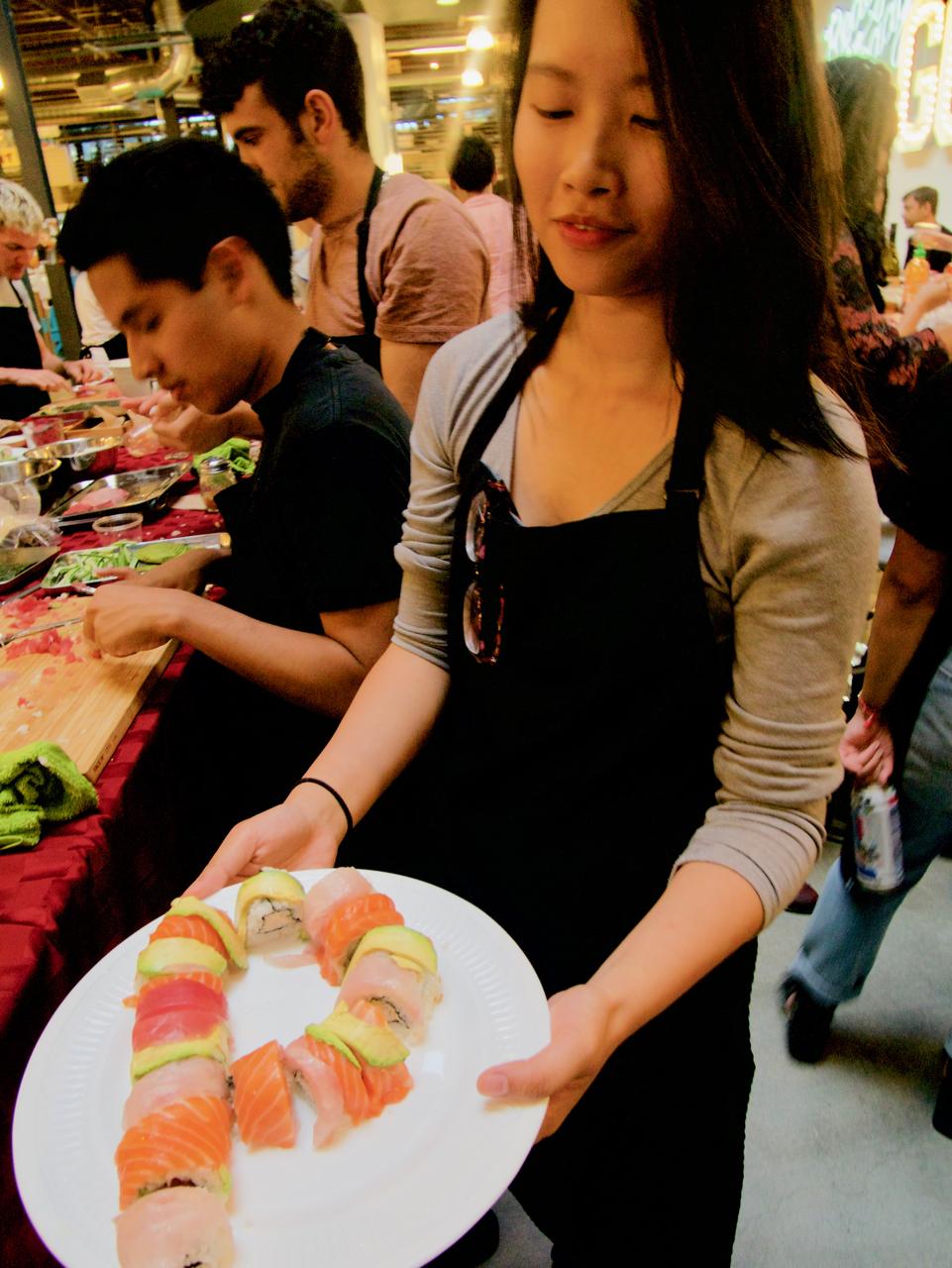 Pinterest Sushi Class 32