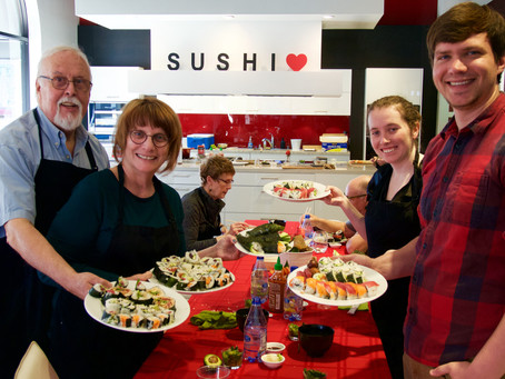 """Photos from """"SELECT"""" Sushi Class"""