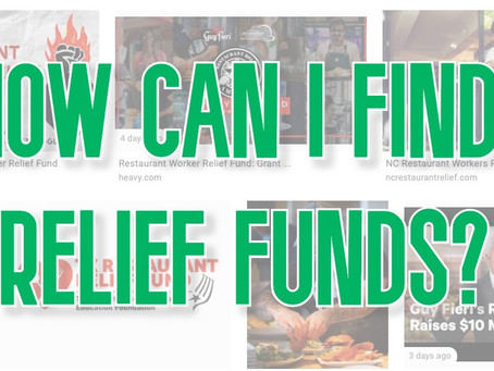 How can I find relief funds (quickly)?