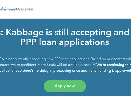 Companies still accepting PPP