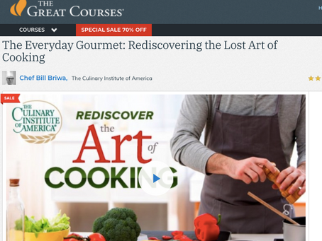 CIA Foodies Online Courses - Free for 30 days