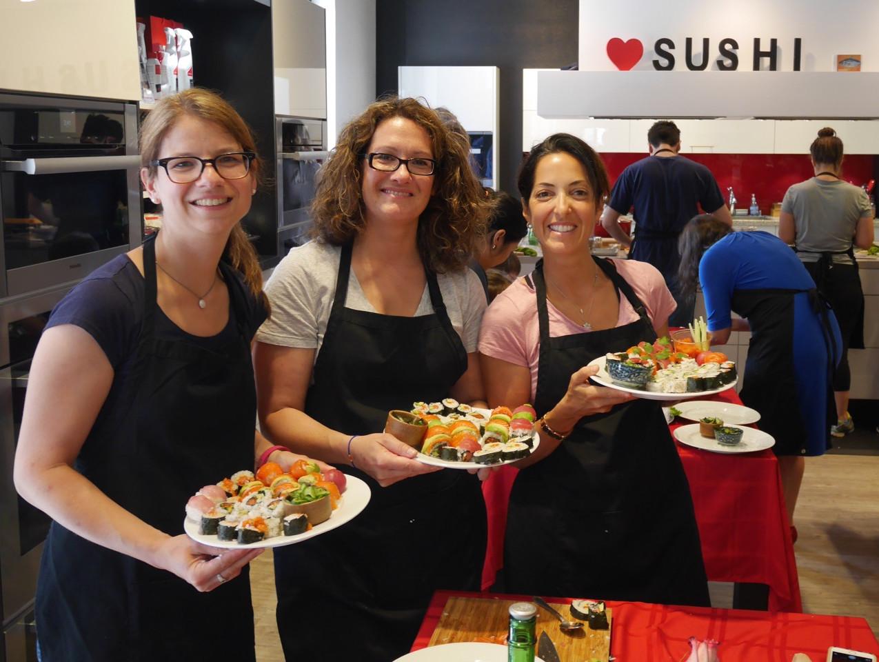 San Francisco Sushi Class July 9 2016 3
