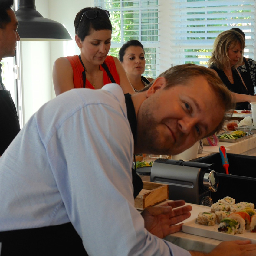 Roche Team Building Sushi Class June 30, 2016 7