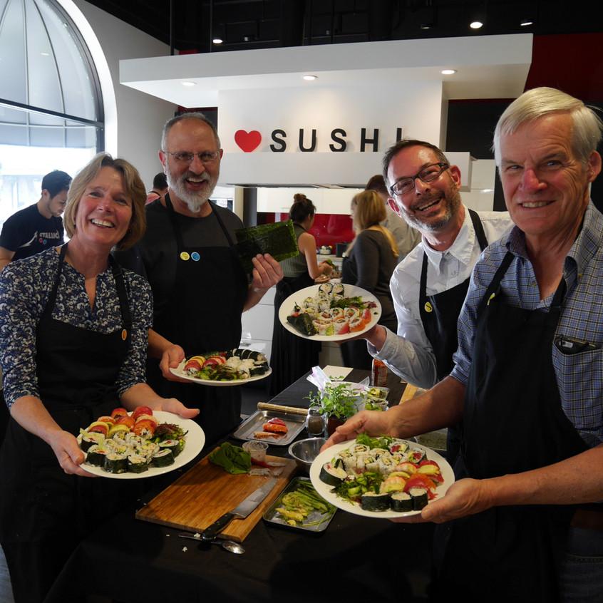 San Francisco Sushi Class February 6, 2016 6
