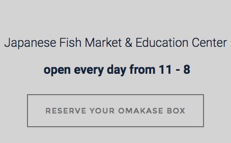 Osakana Japanese Fish Market, Brooklyn, NY
