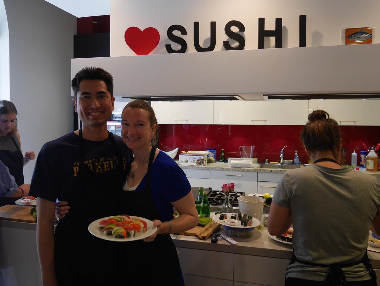 San Francisco Sushi Class July 9 2016 8