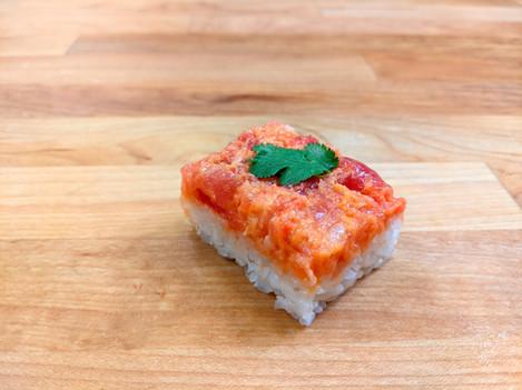 Spicy Tuna Oshizushi