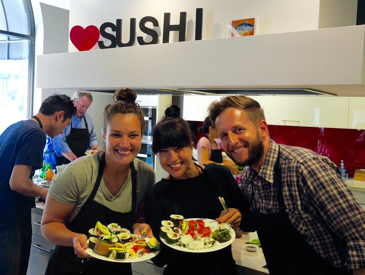 San Francisco Sushi Class July 9 2016 5
