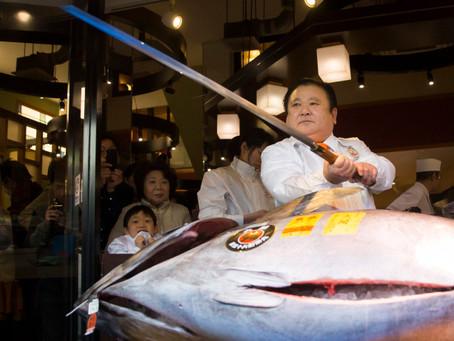 Annual Tuna Auction The Second Highest Bid