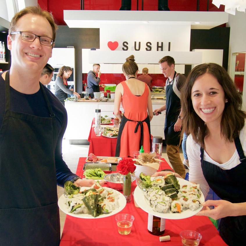 San Francisco Sushi Class 20175