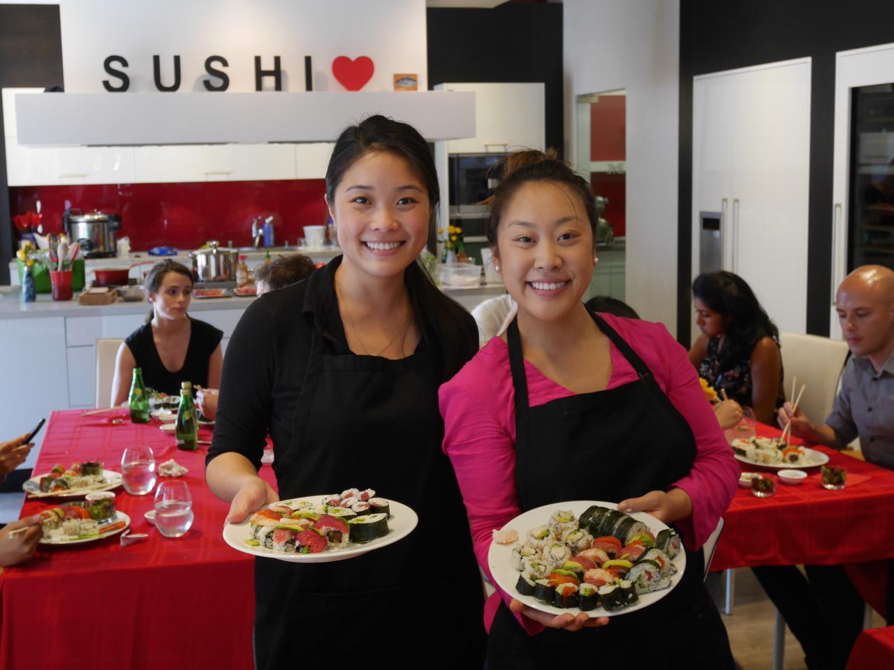 San Francisco  Sushi Class Cooking Class September 10, 2016 8
