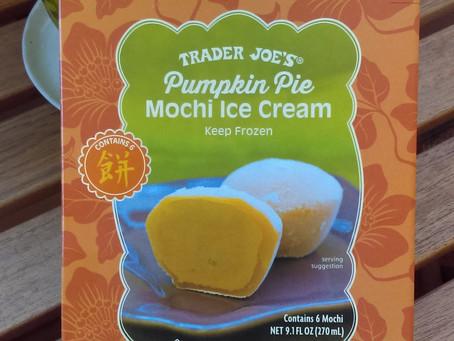 NEW Pumpkin Mochi Ice at Trader Joe's
