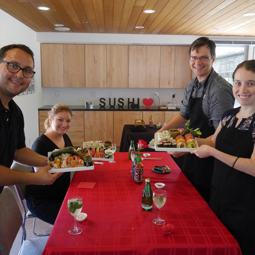 Los Altos Sushi Class Augusst 20 2016 1