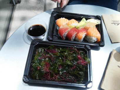 Sushi at Academy of Sciences