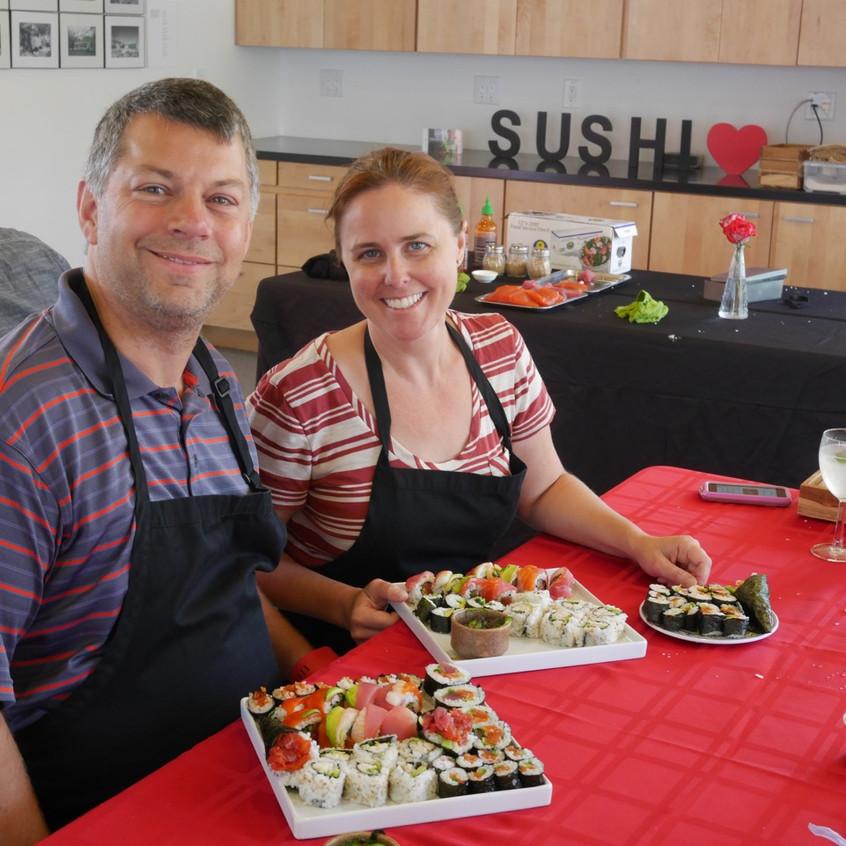 Los Altos Sushi Class Augusst 20 2016 2