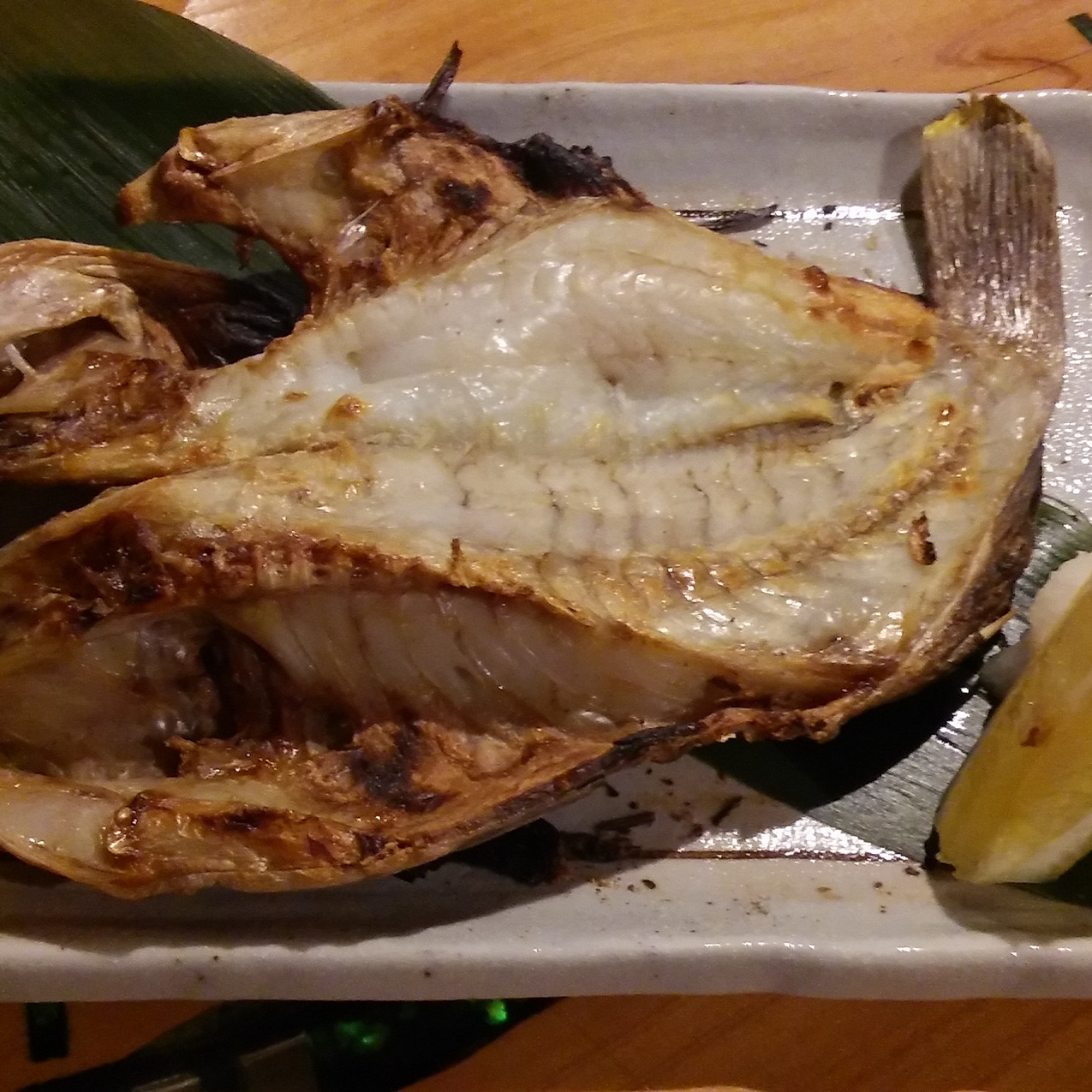 Dry Fish Grilled