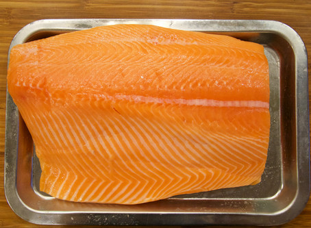 How to cure Salmon for Sushi and Sashimi
