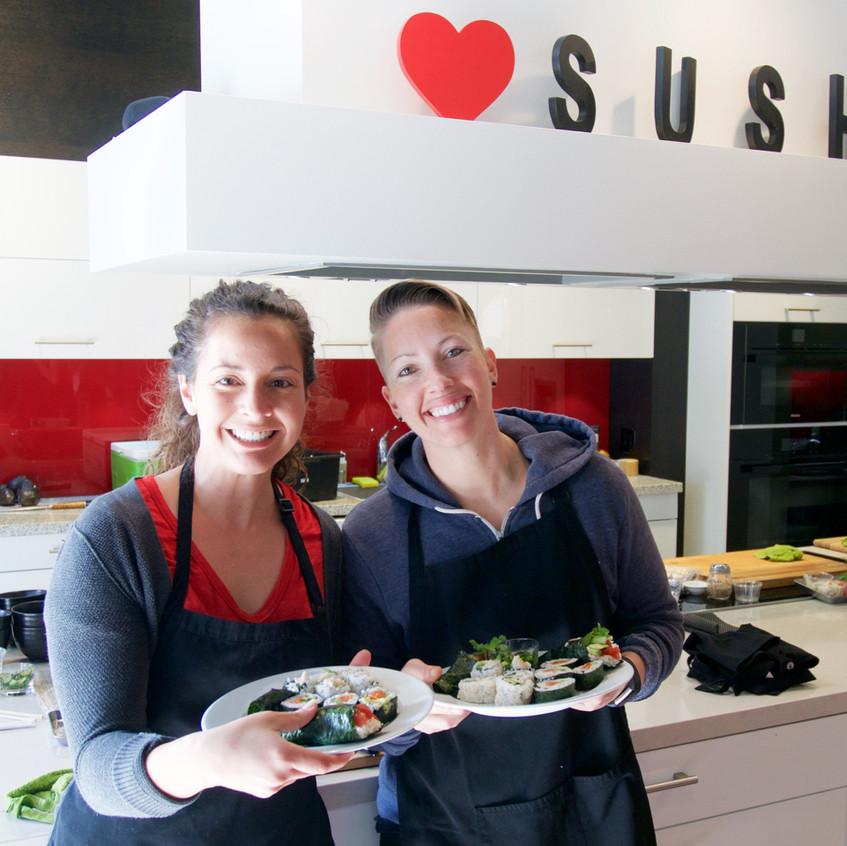 San Francisco Sushi Class 20178