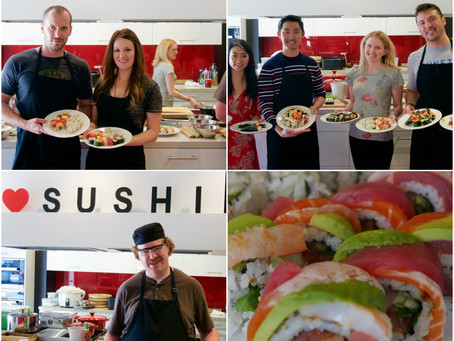 """Photos from """"PRIME"""" Sushi Class"""