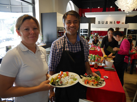 Photos from the San Francisco Sushi Class, Saturday September 10, 2016