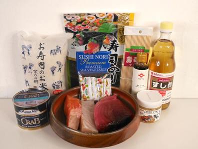 Yama Seafood Sushi Kit for One