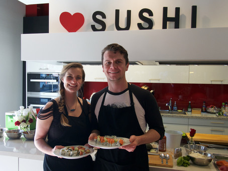 """Photos from January """"PRIME"""" Sushi Class"""