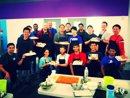Photos from A recent Team Building Sushi Class for Facebook