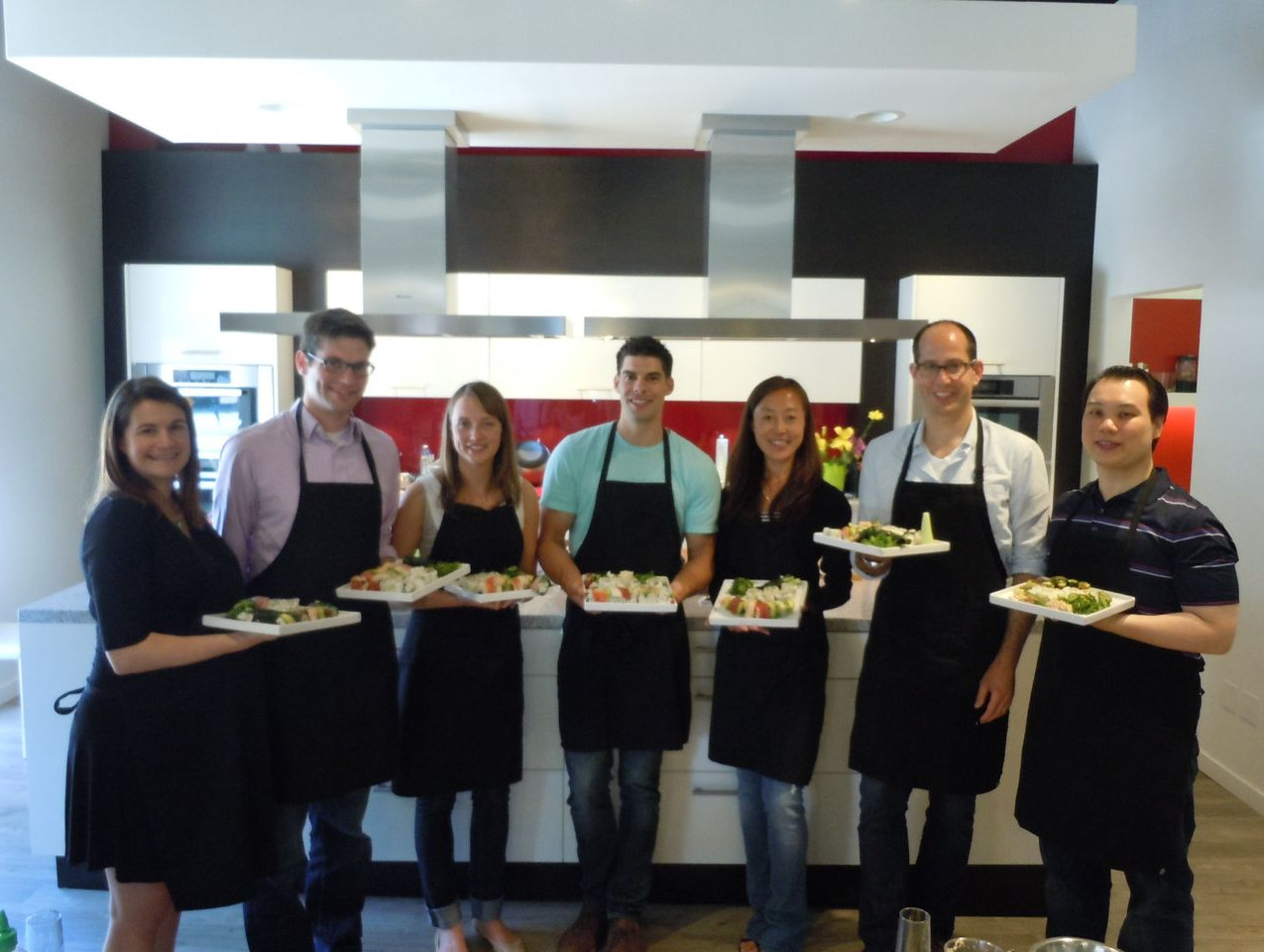 Chartis Group Team Building+Sushi+Class+1