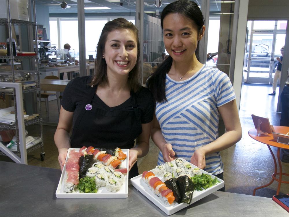 San Mateo Sushi Class May 2 2015 3
