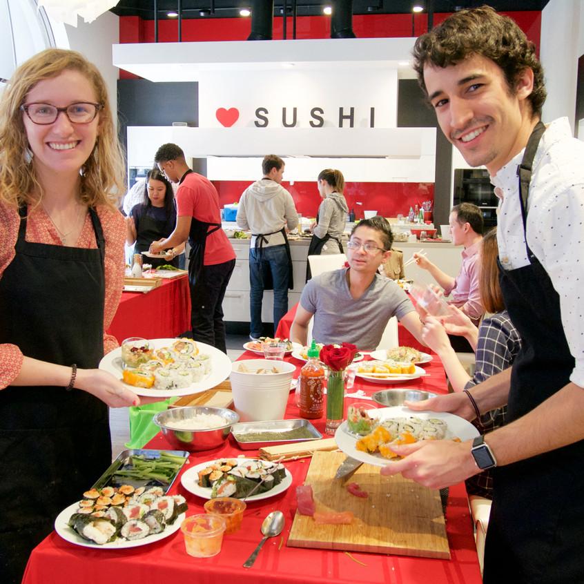 San Francsico Sushi Class PRIME 2-6