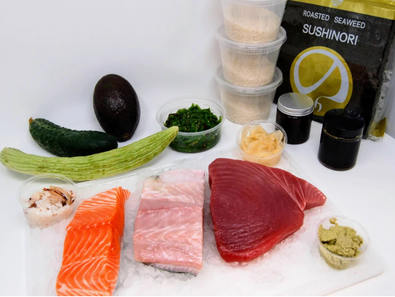 Four Star Seafood Sushi kit for Two