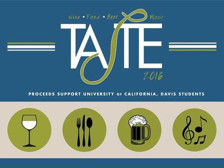 Taste 2016 at Robert Mondavi Institute UC Davis