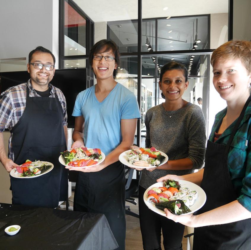 San Francisco Sushi Class October 17, 2015 5