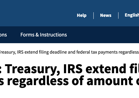 Tax Day now July 15