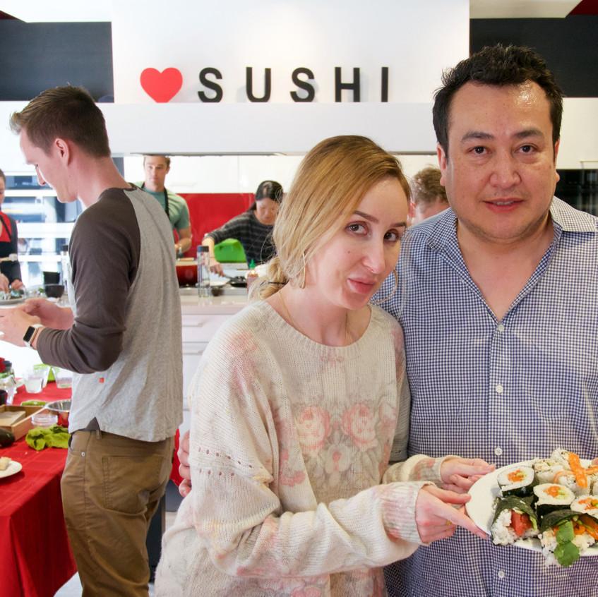 San Francisco Sushi Class 20171