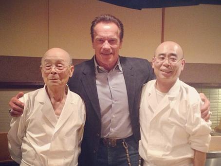 Schwarzenegger Dreams of Sushi
