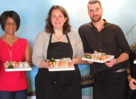 Salesforce Team Building Sushi Class