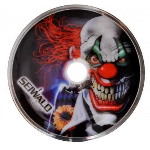 Stockkörper Clown