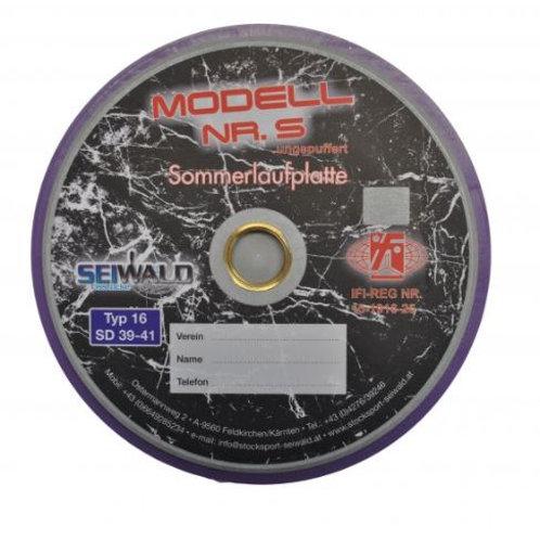 Sommerlaufplatte Modell 5 Typ 16 (inkl. IFI Plakette)